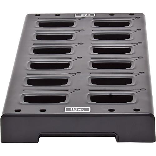 Listen Technologies LA-381-01 Intelligent 12-Unit Charging Tray (Black)