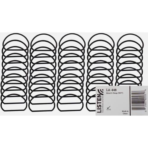 Listen Technologies Metal D-Rings (50 Count)