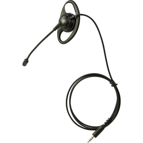 Listen Technologies LA-451 Ear Speaker Headset with Boom Mic