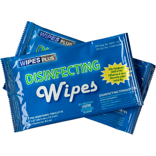 Listen Technologies Disinfecting Wipes (75-Count Dispenser)