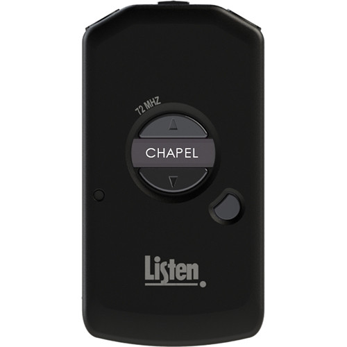 Listen Technologies LDS Meeting House Receiver