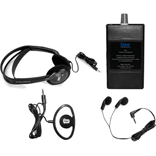 Listen Technologies Hearing Loop Receiver with Lanyard Package