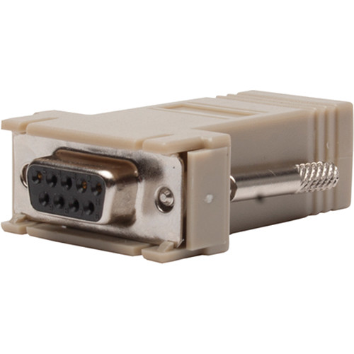 Listen Technologies RJ-45 Female to 19-Pin DB-9 Male Adapter