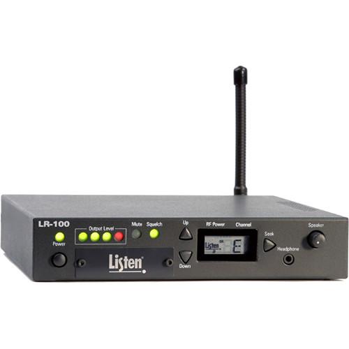Listen Technologies Stationary RF Receiver/Power Amplifier (72 MHz)