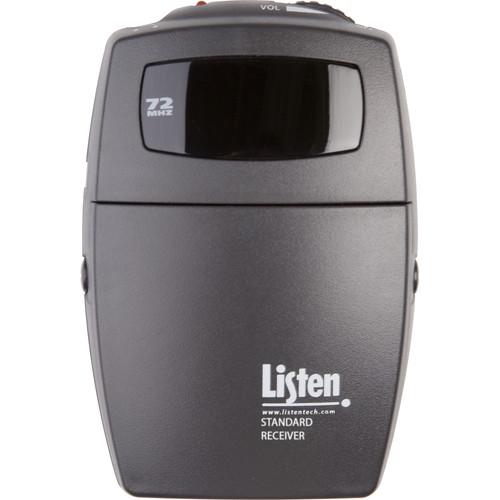 Listen Technologies Standard 3-Channel RF Receiver (72 MHz)
