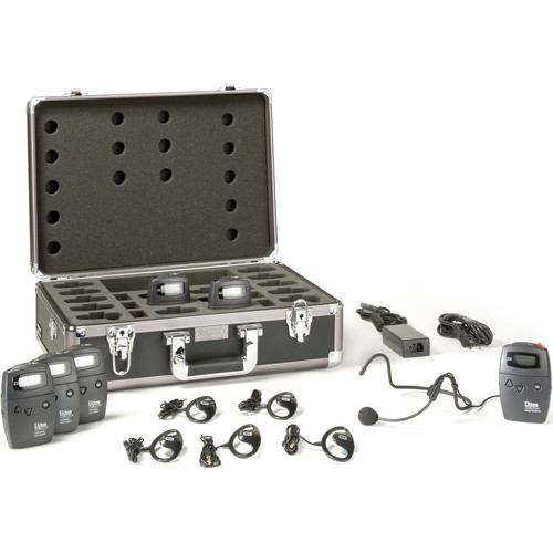 Listen Technologies 15-Person Advanced Portable RF System (216 MHz)