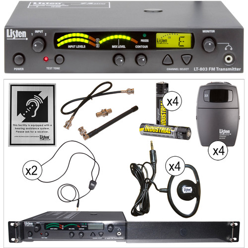 Listen Technologies ADA Value Stationary RF System (72 MHz)