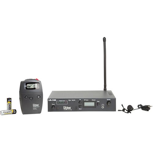 Listen Technologies Wireless RF Microphone System (72 MHz)