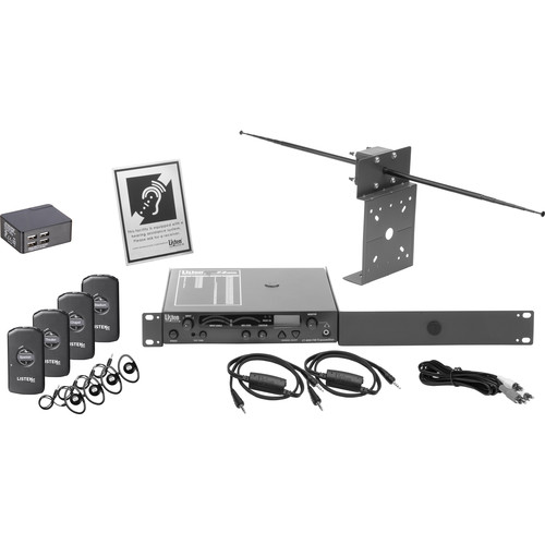 Listen Technologies iDSP Prime Level II Stationary RF System (216 MHz)