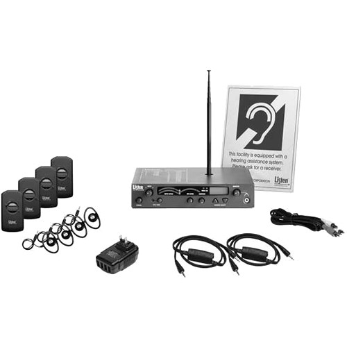 Listen Technologies iDSP Advanced Level I Stationary RF System (72 MHz)