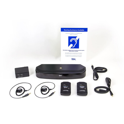 Listen Technologies ListenIR Advanced iDSP Level I System
