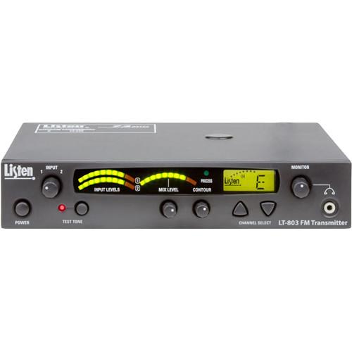 Listen Technologies LT-803-072-01 Stationary 3-Channel RF Transmitter (72 MHz)