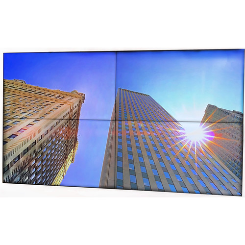 "LTN Technologies 110"" Total Display Width 4K Edge to Edge Video Display with 18mm Bezel"