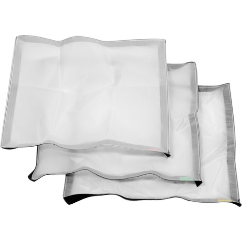 Litepanels Diffusion Cloth Set for Astra 1x1 and Hilio D12/T12 Snapbag Softbox