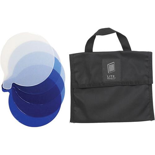 Litepanels CTB 5-Piece Gel Set with Bag for Inca 9 Fresnel
