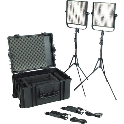 Litepanels 1x1 LS Traveler Duo Kit