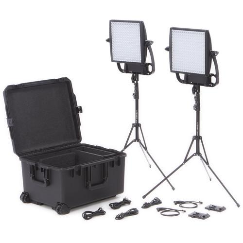 Litepanels Astra Traveler Duo 2-Light Kit (V-Mount)