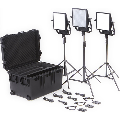 Litepanels Astra Bi-Color LED Traveler Trio Kit (V-Mount)