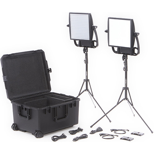 Litepanels Astra Bi-Color LED Traveler Duo Kit (Gold Mount)