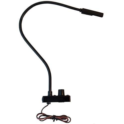 "Littlite CC-TB12-LED-AW 12"" End Mount Gooseneck LED Task Light with Automotive Wiring"