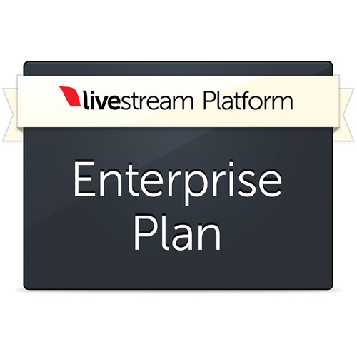Livestream Livestream Enterprise Platform Plan (1-Year Subscription)