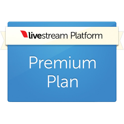 Livestream Livestream Premium Platform Plan (1-Year Subscription)