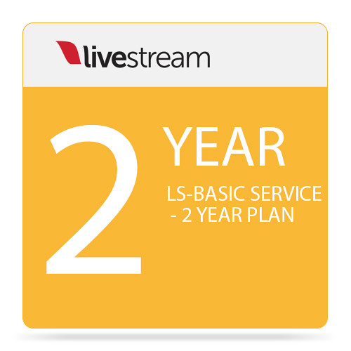 Livestream Livestream Basic Platform Plan (2-Year Subscription)