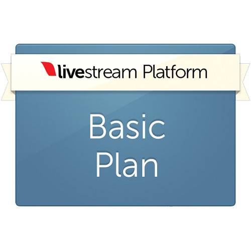 Livestream Basic Platform Plan (1-Year Subscription)