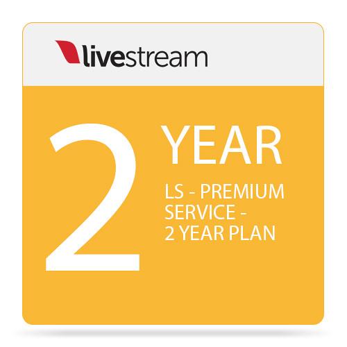 Livestream Premium Platform Plan (2-Year Subscription)