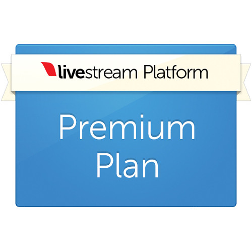 Livestream Livestream Premium Platform Plan (1-Year Renewal Subscription)