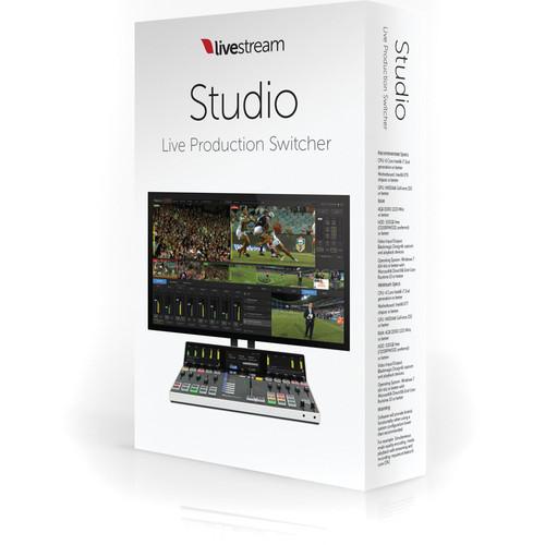 Livestream Livestream Studio Software