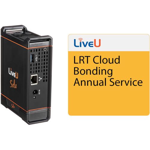 LiveU Solo SDI/HDMI Video/Audio Encoder & 1-Year Cloud Bonding Plan Kit