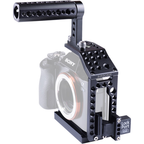 LOCKCIRCLE BirdCage A7 Bundle with Top Handle for Sony a7 Series