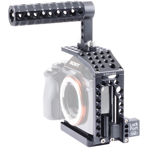 LOCKCIRCLE BirdCage A7P Bundle Plus Edition with Extended Top Plate and Top Handle for Sony a7 Series
