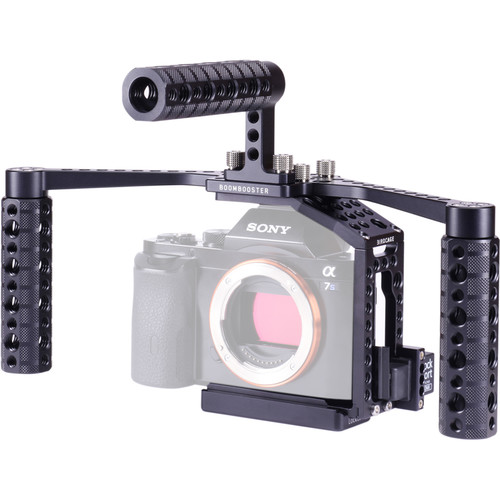 LockCircle BirdCage A7P BoomBooster Bundle Plus Edition with Extended Top Plate for Sony a7 Series Cameras