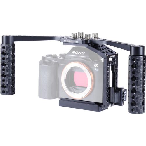 LOCKCIRCLE BirdCage A7P BoomBooster Kit Plus Edition with Extended Top Plate for Sony a7 Series Cameras