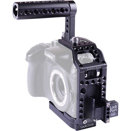 LOCKCIRCLE BirdCage GH4 Bundle with Top Handle for Panasonic Lumix GH4