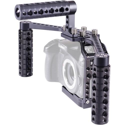 LockCircle BirdCage GH4 BoomBooster Bundle for Panasonic Lumix GH4 Cameras