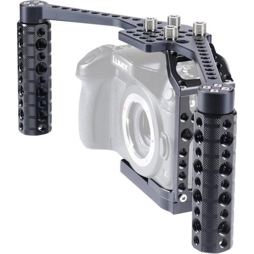 LOCKCIRCLE BirdCage GH4 BoomBooster Swivel Kit for Panasonic Lumix GH4 Cameras