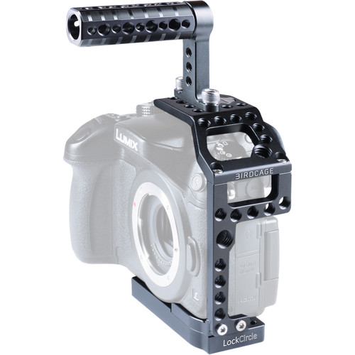 LockCircle BirdCage GH4 Swivel Kit with Top Handle for Panasonic GH4