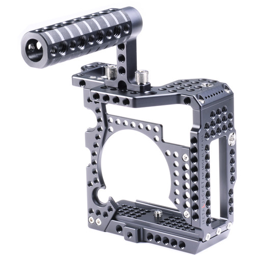 LockCircle MetalJacket Basic Camera Cage Kit with Top Handle (Black)