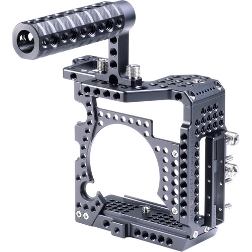 LockCircle MetalJacket Basic Camera Cage Kit with Top Handle and MultiPort (Black)