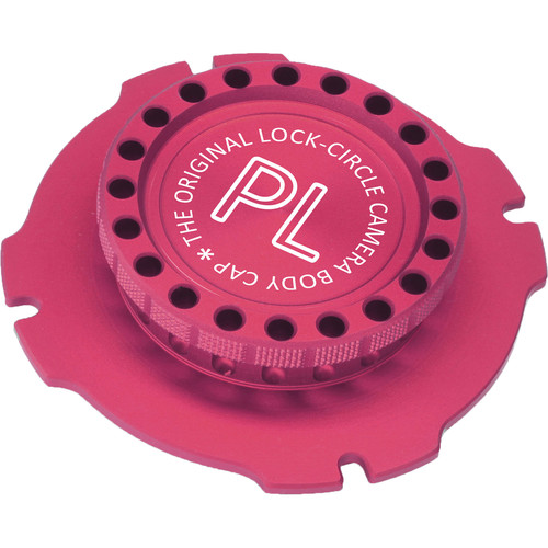 LockCircle PL Mount Cap (Red)