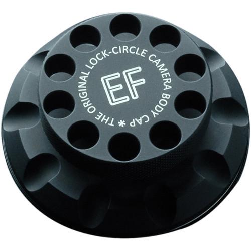 LockCircle Camera Body Cap for Canon EF (Black)