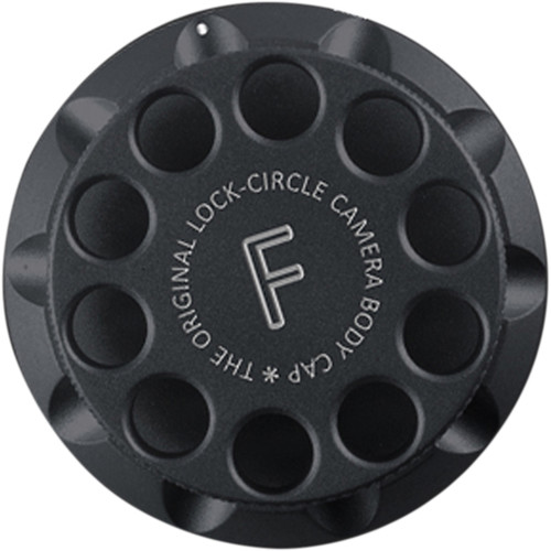 LockCircle Camera Body Cap for Nikon F (Black)