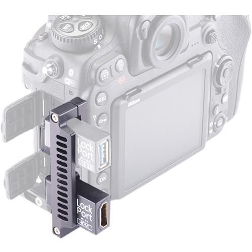 LOCKCIRCLE LockPort D500 HDMI Dual Kit for Nikon D500