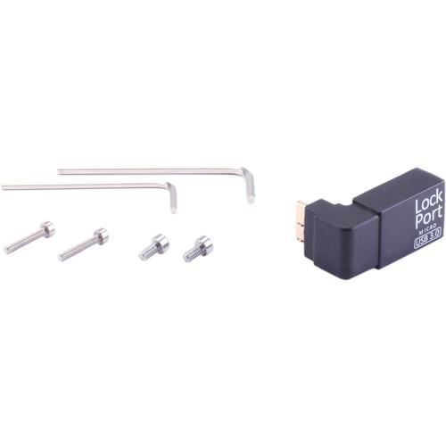 LOCKCIRCLE LockPort USB 3.0 Survival Kit for Canon 5D Mk IV & Nikon D500