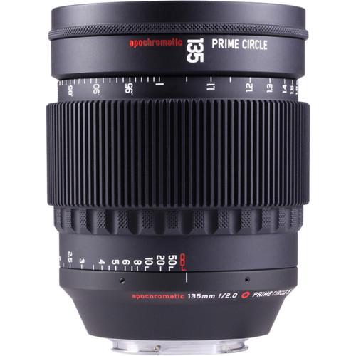 LOCKCIRCLE PrimeCircle XE Series Canon EF Mount 135mm f/2.0 Apochromatic Lens (Metric Markings)