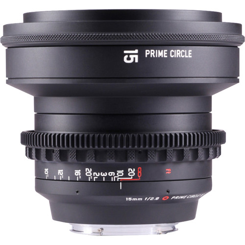 LOCKCIRCLE PRIME CIRCLE XE 15mm f/2.8 Lens (EF Mount, Marked in Feet)