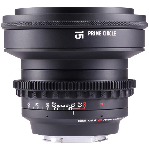 LockCircle PrimeCircle XE Series Canon EF Mount 15mm f/2.8 Lens (Metric Markings)